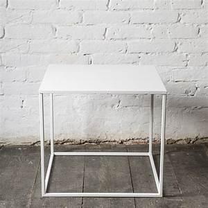 Beistelltisch Metall Weiß : simplex couchtisch beistelltisch aus metall notoria ~ Whattoseeinmadrid.com Haus und Dekorationen