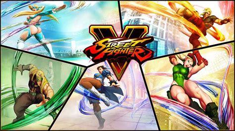 Street Fighter V  Guía De Personajes Y Movimientos