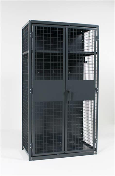 storage cabinets lockers metal mesh storage best storage design 2017