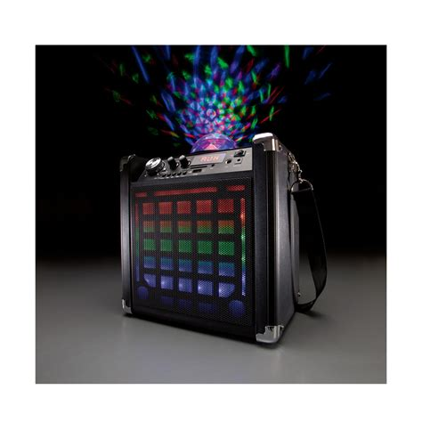 speaker with disco light bluetooth speaker with disco light kmart