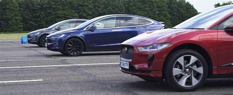 Jaguar I-pace Vs. Tesla Model X 100d And P100d Is A Silent