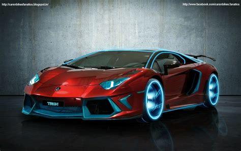 Car & Bike Fanatics Lamborghini Aventador Tron As Our New