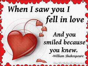 Falling in Love: Quotes about love - William Shakespeare ...
