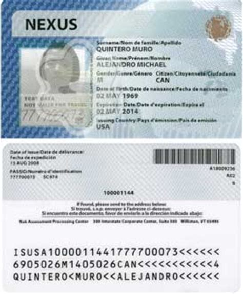 nexus application form canada nexus card renewal canada immigration visa travel