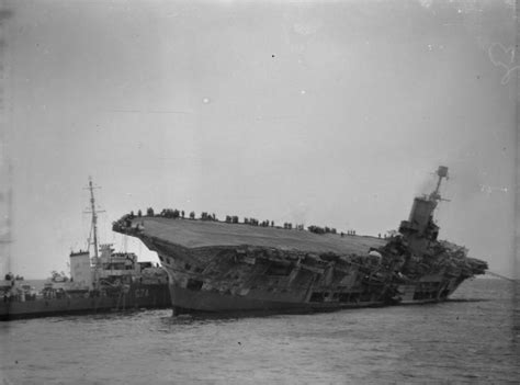 sink the bismarck wiki file hms ark royal sinking jpg
