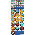 Skill Icons Resource Computer Sheet Zork Spriters