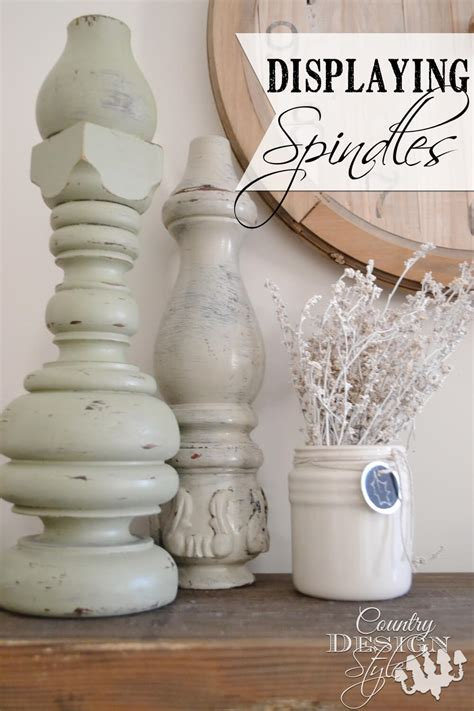 creative reused spindle ideas   cheap
