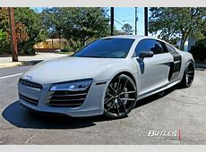 Audi R8 with 20in Niche Targa Wheels exclusively from