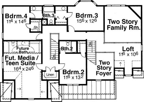 5 Bedroom 4 Bath Coastal House Plan #ALP 0622