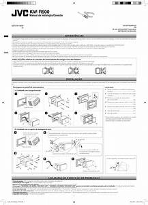 Jvc Kw R500j R500 User Manual Installation  America