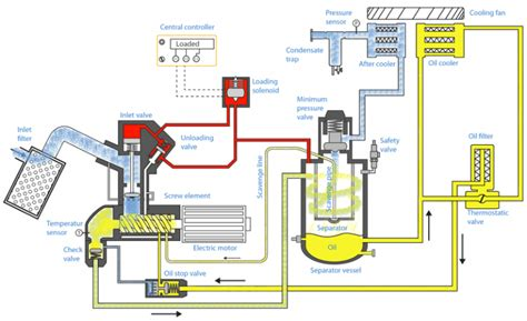 how injected rotary compressors work air compressor guide