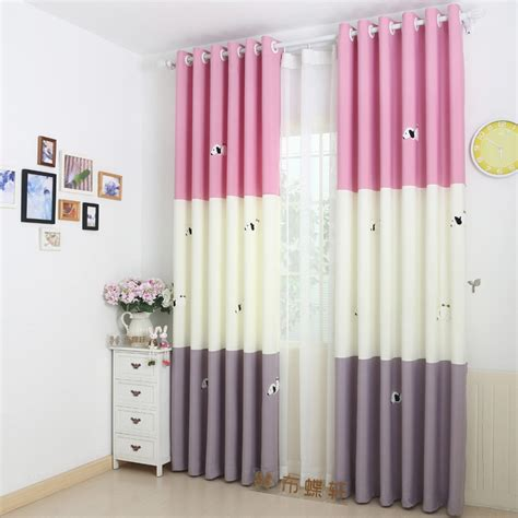 pink and white curtains decorative pink and white curtains