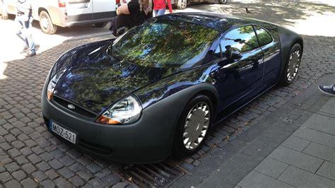 ford ka  bugatti veyron mashup render  intriguing
