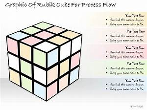 1814 Business Ppt Diagram Graphic Of Rubik Cube For
