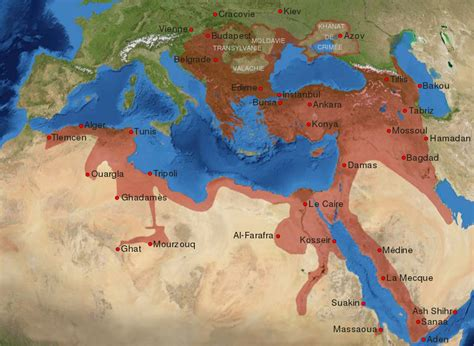 Carte Empire Ottoman by Fichier Ottoman Empire 16 17th Century Fr Svg Wikip 233 Dia