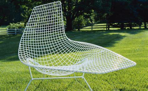 bertoia chaise bertoia asymmetric chaise lounge hivemodern com