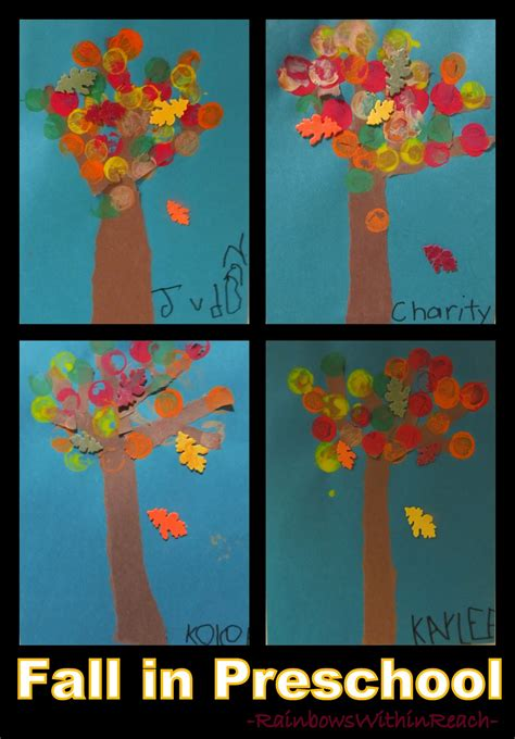 fall leaf project in preschool drseussprojects 489 | Fall Leaves in Preschool