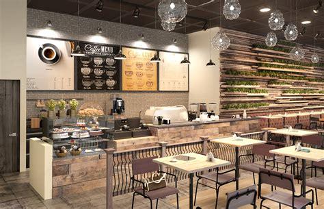 industrial rustic cafe interior design architizer