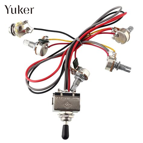 3 way l switch replacement yuker wiring harness 2v 2t 3 way pickups toggle switch