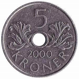 5 Norwegian Kroner coin - Exchange yours for cash today