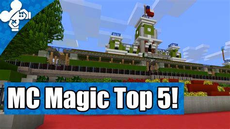 mc best servers mc magic top 5 minecraft disney servers