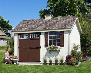 Amish built shed in ohio large storage shed with autos post for Amish garage builders cleveland ohio
