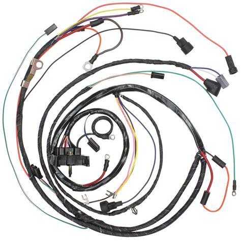1972 Monte Carlo Wiring Harnes by M H Monte Carlo Engine Harness V8 With Gauges Fits 1972