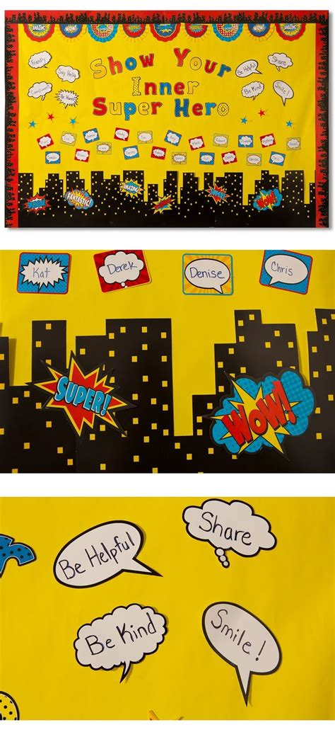 Best 25+ Superhero Bulletin Boards Ideas On Pinterest  Superhero Classroom Theme, Superhero