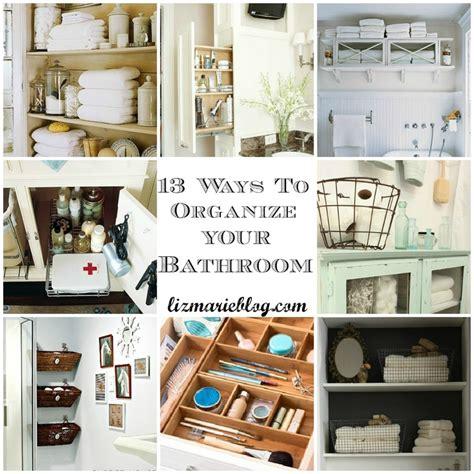 organized bathroom ideas ways to organize your bathroom