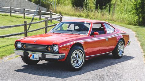 A 1974 AMC Hornet That Was Rolled by James Bond is Heading ...