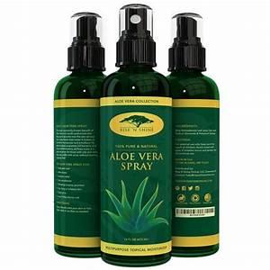 16 Oz  Aloe Vera Spray For Face