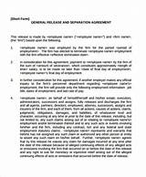 Images of Mutual Release Of Contract Claims
