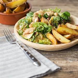 Salat Mit Zucchini : salat mit gegrillter zucchini kartoffelecken und kichererbsen ~ Lizthompson.info Haus und Dekorationen