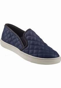 steve madden ecentrcq slip on sneaker navy in blue lyst