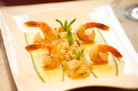 cuisiner des gambas repas gastronomique à l hostellerie des châteaux galerie photos d 39 article 4 4