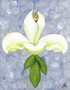 Fleur De Magnolia : fleur de magnolia painting by fleur de art ~ Melissatoandfro.com Idées de Décoration