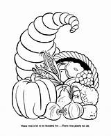 Coloring Pages Harvest Thanksgiving Popular sketch template