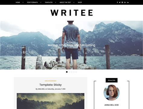 best themes for writers authors 2019 athemes
