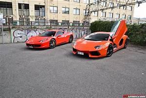 Ferrari Vs Lamborghini : ferrari 458 vs lamborghini aventador gtspirit ~ Medecine-chirurgie-esthetiques.com Avis de Voitures