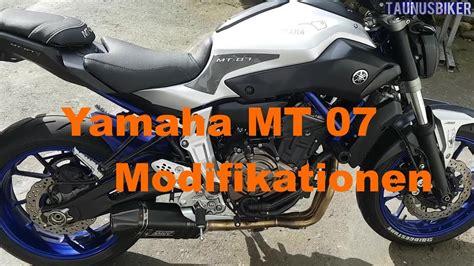 mt 07 tuning yamaha mt 07 2015 modifikationen tuning parts taunusbiker