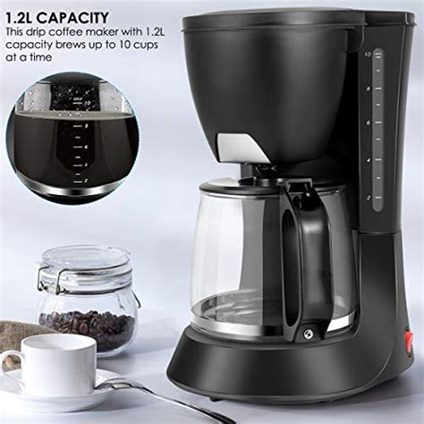 Instant pot coffee & espresso maker is now available to purchase! YINUODAY Drip Coffee Maker, Thermal Drip Coffee Pot Machine With Automatic Heat Preservation ...