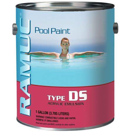 gallon ramuc ds acrylic pool paint white walmartcom