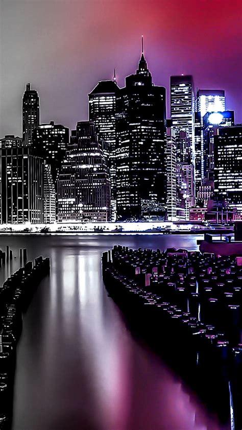 city lights gradient light filter iphone wallpapers