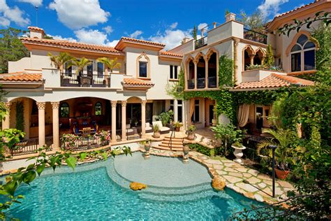 mediterranean home home tour impeccable mediterranean waterfront home