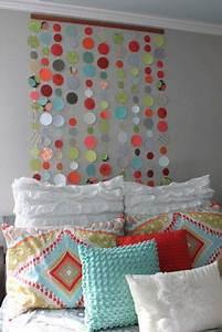 Cute diy wall art ideas for kids room circles