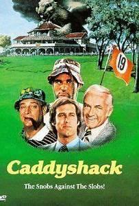 10 best GOLF MO... Caddyshack 1980