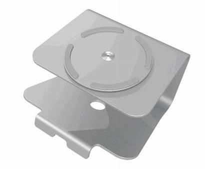 Swivel Stand Laptop Base Universal Pc Aluminium