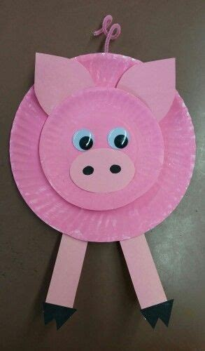 9 pig arts and crafts ideas for and toddlers 205 | Paper Plate Pig Crafts