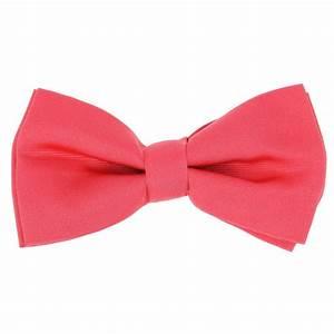 Noeud Papillon Rose Poudré : noeud papillon rose corail tilbury la maison de la cravate ~ Melissatoandfro.com Idées de Décoration