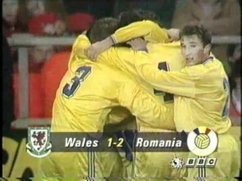Tara Galilor(Wales)-ROMANIA 1-2 Qualifications World Cup 1994 2st half .mp4 - YouTube